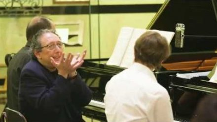 Jean-Marc Luisada teaches Julian Trevelyan